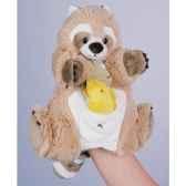 marionnette peluche histoire d ours raton 22cm et sa petite marionnette doigt poisson ho1358