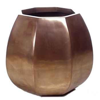 Vases-Modèle Crocus Planter, surface bronze nouveau-bs3349nb