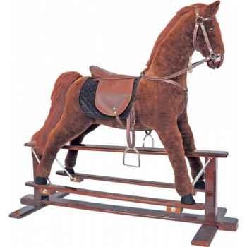 Cheval à bascule Anglaise Histoire d\'Ours grand modèle 70cm -HO1214