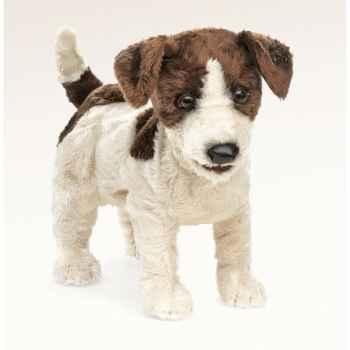 Marionnette Peluche Jack Russel Terrier Folkmanis -2848