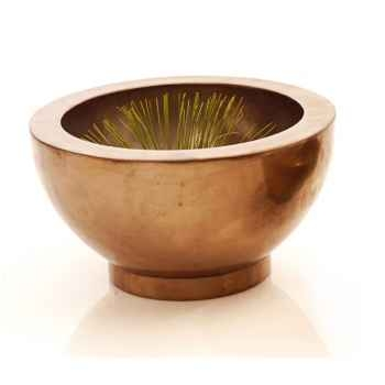 Vases-Modèle Paso Bowl Large, surface bronze nouveau-bs3348nb