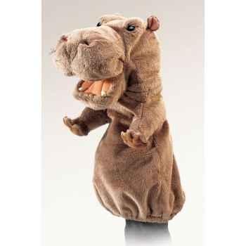 Marionnette Peluche Folkmanis Hippo -2852