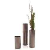 vases modele cylinder vase large surface en fer bs3343iro