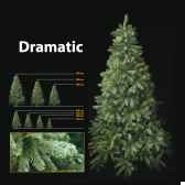 sapin de noe450 cm professionnedramatic pine tree vert