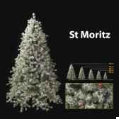 sapin de noe210 cm professionnest moritz winter tree 550 lumieres white berry