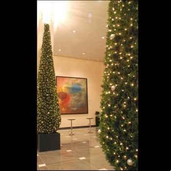 Thuya Pyramide 120 cm Professionnel 150 lampes