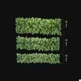 guirlande douglas lumineuse professionnelle 120 lampes led blanc vert 250 20 cm