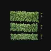 guirlande douglas lumineuse professionnelle 240 lampes led blanc vert 500 20 cm