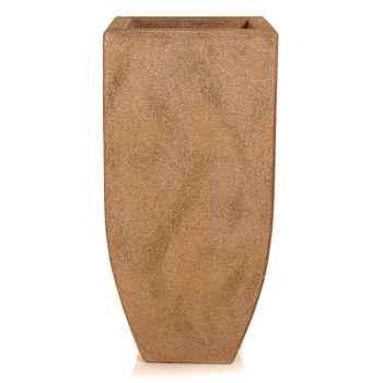 Vases-Modèle Kobe Planter, surface marbre vieilli-bs3326ww