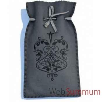 Bouillotte Medaillon gris gris - medru0505