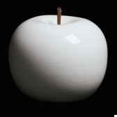 pomme blanche brillant glace bulstein diam 20 cm indoor