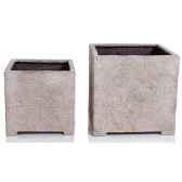 vases modele cube planter medium surface gres bs3320sa