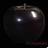 pomme noire brillant glace bulstein diam 59 cm indoor
