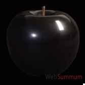 pomme noire brillant glace bulstein diam 95 cm indoor