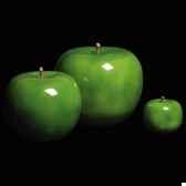 pomme verte brillant glace bulstein diam 20 cm indoor