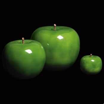 Pomme verte brillant glacé Bull Stein - diam. 29 cm indoor