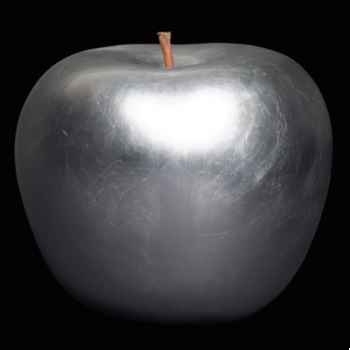 Pomme argent prestige Bull Stein - diam. 20 cm indoor