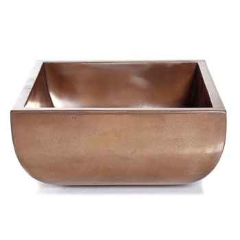 Vases-Modèle Nara Bowl Junior, surface bronze nouveau-bs3308nb