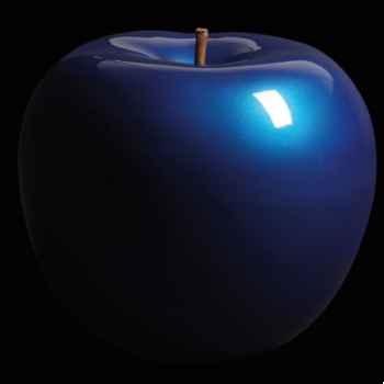 Pomme bleue edition racing Bull Stein - diam. 48 cm indoor