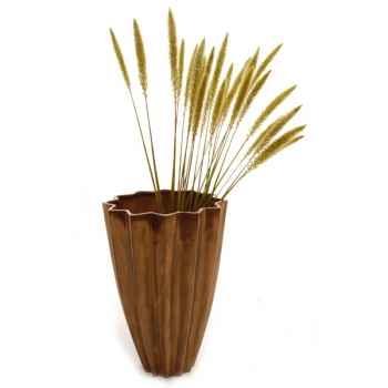 Vases-Modèle Bituin Vase, surface bronze nouveau-bs3274nb