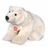 peluche hermann teddy collection ours polaire assis 40 cm 91541 6