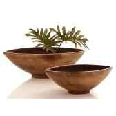 vases modele mata bowlarge surface aluminium bs3266alu
