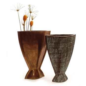 Vases-Modèle Hito Vase, surface aluminium-bs3262alu