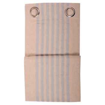Rideau œillets (8) prêt à poser 155x300 Arette 70% coton et 30% lin Artiga Hivers -arti10371