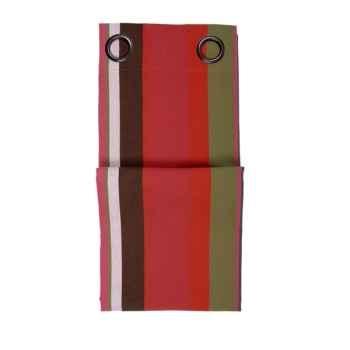 Rideau œillets (x8) prêt à poser 155x300 Soumoulou 100% coton Artiga Hivers -arti10234