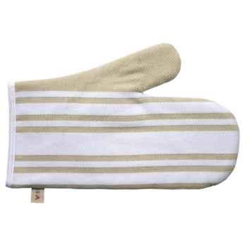 Moufle œillet - ht 29 cm Lot de 2 Corda Métis blanc 70% coton 30% lin Artiga Hivers -arti10300