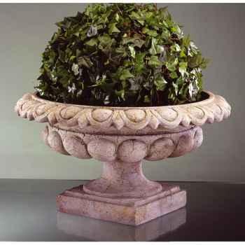 Vases-Modèle Kensington Urn, surface rouille-bs3088rst