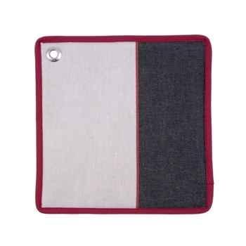 Manique carré - 22x22 Lot de 4 arpagnon 100% coton Artiga Hivers -arti10057