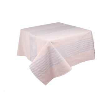 Nappe 160x160 Arette 70% coton et 30% lin Artiga Hivers -arti10358
