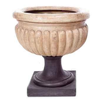 Vases-Modèle Bath Urn, surface pierre romaine-bs3094ros
