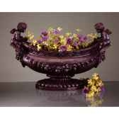 vases modele cherub ovabowsurface en fer bs3063iro