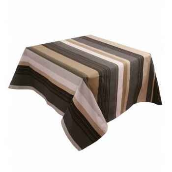 Nappe 250x160 Aubertin 100% coton Artiga Hivers -arti10036