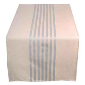 Jeté de table 155x50 Arette 70% coton et 30% lin Artiga Hivers -arti10364