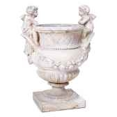 vases modele cherub urn surface rouille bs3060rst