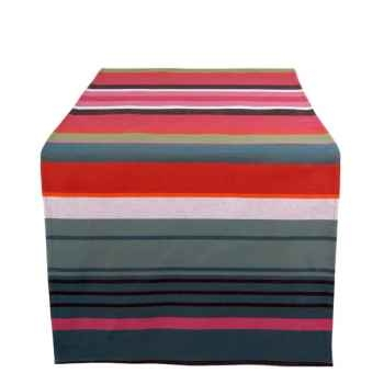 Jeté de table 155x50 Soumoulou 100% coton Artiga Hivers -arti10223