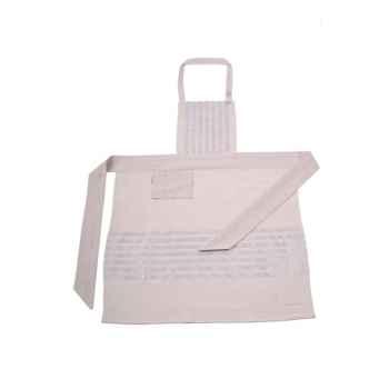 Tablier de fête ceinture espadrille Arette 70% coton et 30% lin Artiga Hivers -arti10367