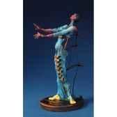figurine artistique salvador dali girafe en feu sd02