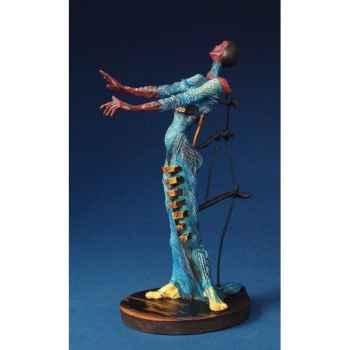 Figurine Artistique Salvador Dali Girafe en feu -SD02