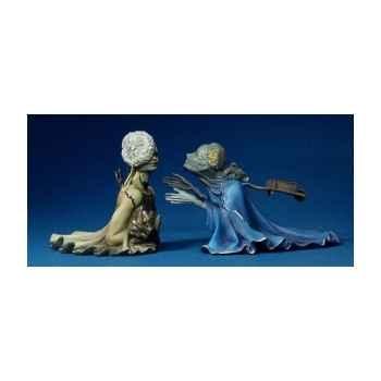 Figurine Artistique Salvador Dali Tristan et Iseult -SD07