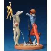 figurine artistique salvador dali poesie d amerique les athletes cosmiques sd11