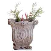 vases modele hereford planter surface pierre romaine bs3036ros