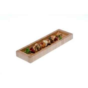 Assiette Bambou 9x30 Silodesign -PLATEXL5