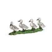 figurine schleich animaux de la ferme cygneau 13657