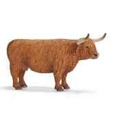 figurine schleich animaux de la ferme vache highland 13659