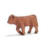 figurine schleich animaux de la ferme veau highland 13660