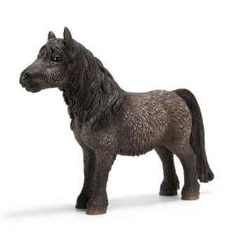 Figurine Schleich Chevaux Etalon Shetland -13662
